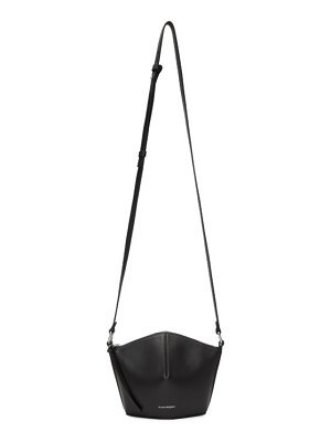 Alexander McQueen black mini nicole bucket bag