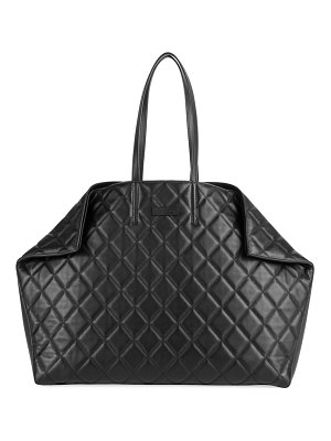 Alexander McQueen butterfly matelassé leather tote