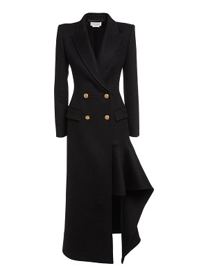 Alexander McQueen Double breasted wool & cashmere coat