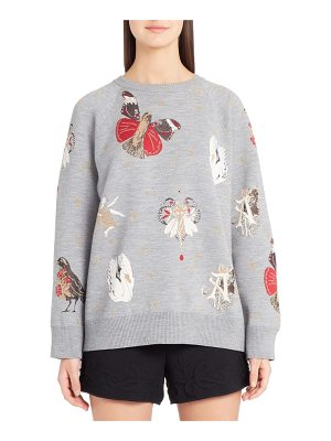 Alexander McQueen gothic fairytale jacquard knit sweater