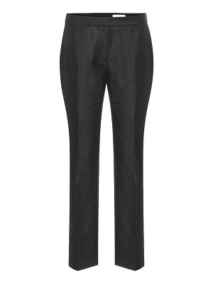 Alexander McQueen high-rise wool pants