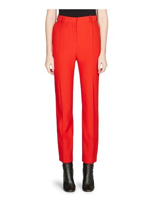 Alexander McQueen high-waist cigarette pants