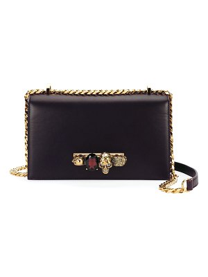 Alexander McQueen Jewelled Satchel Bag - Golden Hardware