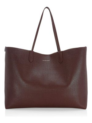 Alexander McQueen large leather shopper tote bag