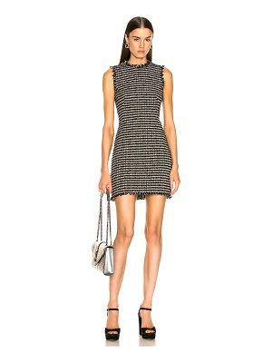 Alexander McQueen Pencil Mini Dress