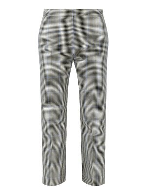 Alexander McQueen prince of wales-check cropped trousers