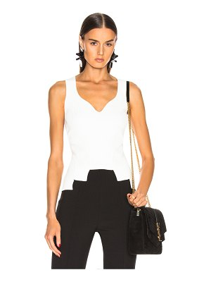 Alexander McQueen sleeveless top
