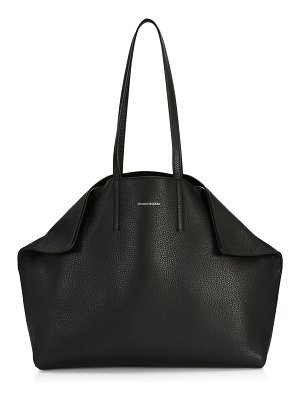 Alexander McQueen small butterfly leather tote
