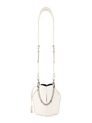 Alexander McQueen small leather bucket bag