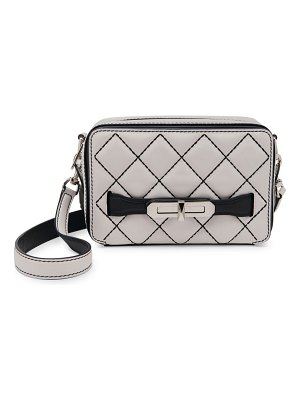 Alexander McQueen small the myth quilted leather camera bag