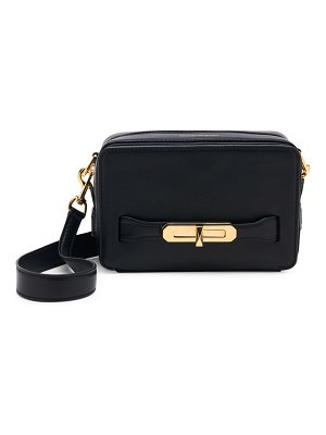Alexander McQueen small the myth leather camera bag