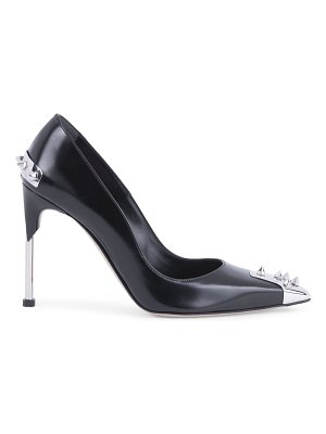 Alexander McQueen spiked leather pumps