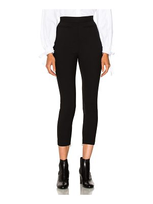 Alexander McQueen Stretch Wool High Waisted Pants