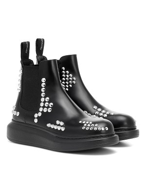 Alexander McQueen studded leather ankle boots
