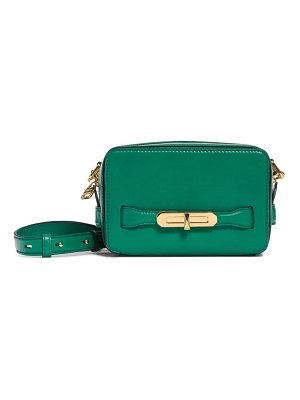 Alexander McQueen the myth small leather camera bag