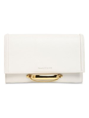 Alexander McQueen The story leather clutch