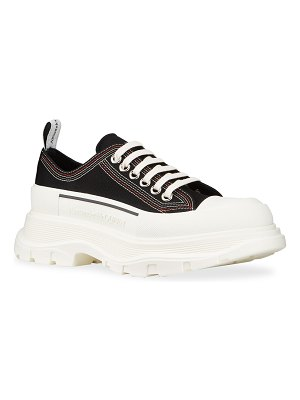 Alexander McQueen Tread Slick Triple-Stitch Chunky Sneakers
