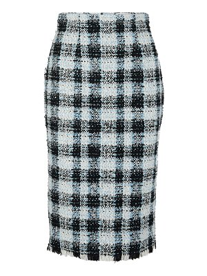 Alexander McQueen Tweed pencil skirt