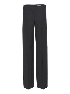Alexander McQueen wool and silk trousers
