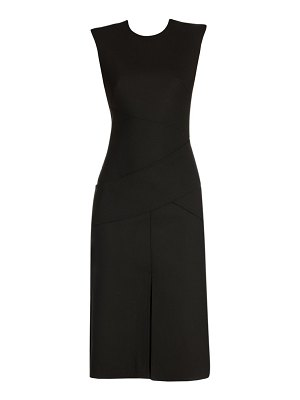 Alexander McQueen wrap detail midi dress