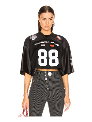 Alexander Wang Athletic Jersey Crop Top