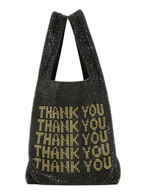 Alexander Wang black mini wangloc shopper tote