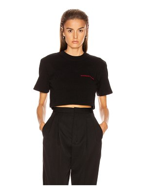 Alexander Wang chynatown cropped tee