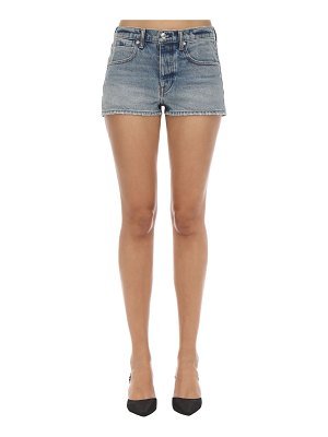 Alexander Wang Cotton denim shorts