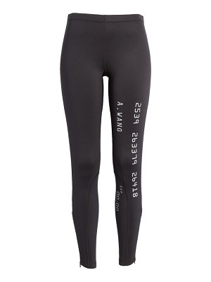 Alexander Wang credit card scuba leggings