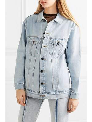 Alexander Wang daze oversized denim jacket