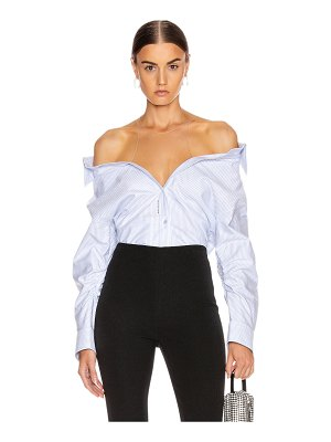 Alexander Wang falling button down shirt