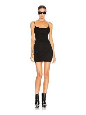 Alexander Wang fitted tailored cami dress