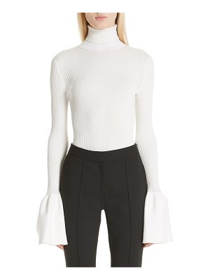 Alexander Wang flare cuff ribbed sweater