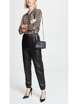 Alexander Wang hook small crossbody bag with box chain