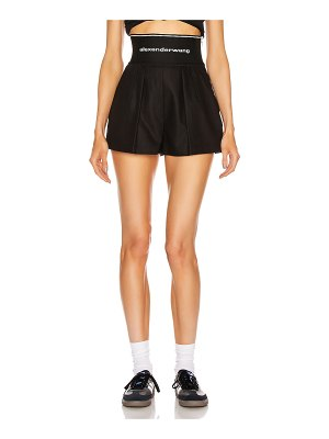 Alexander Wang logo safari short