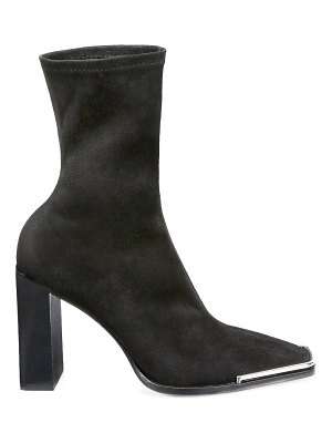 Alexander Wang mascha stretch suede ankle boots