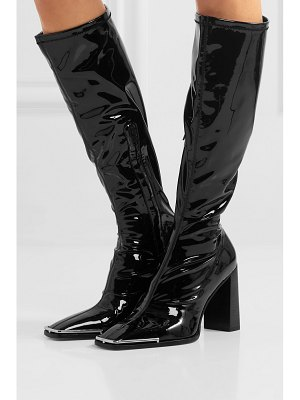 Alexander Wang mascha stretch-vinyl knee boots