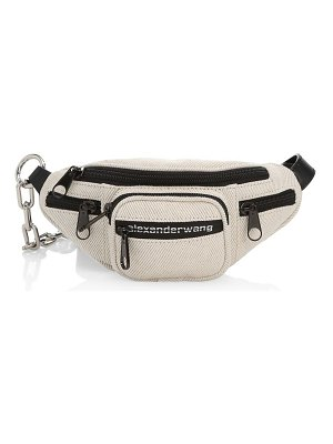 Alexander Wang mini attica canvas belt bag