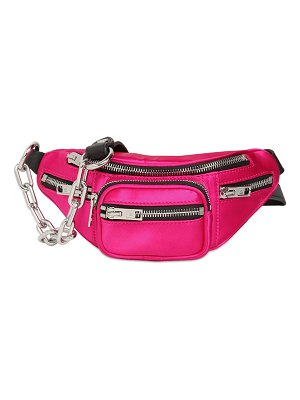 Alexander Wang Mini attica satin belt bag