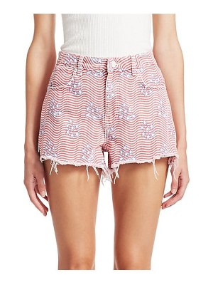 Alexander Wang stars & stripes shorts