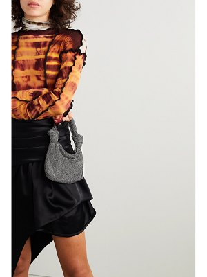 Alexander Wang wangloc knotted crystal-embellished mesh tote