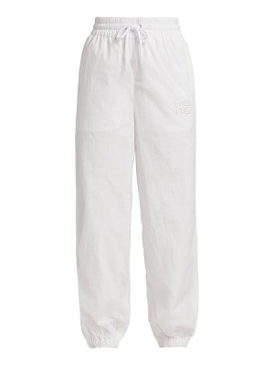 alexanderwang.t embroidered track pant