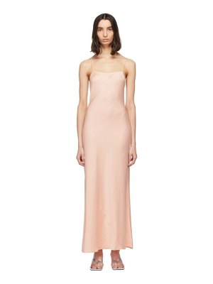 alexanderwang.t pink light wash and go maxi cami dress