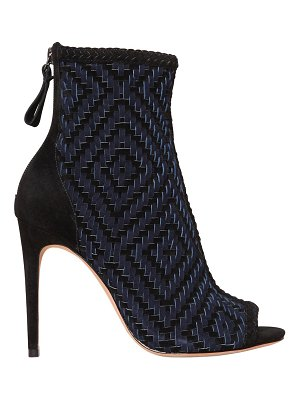 Alexandre Birman 100mm monise open toe ankle boots