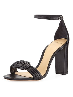 Alexandre Birman Chiara Knot Leather Sandals