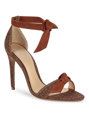 Alexandre Birman Clarita Metallic Tie Sandals
