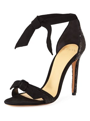 Alexandre Birman Clarita Sequined Knotted Sandals