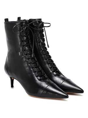 Alexandre Birman Lace-up leather ankle boots