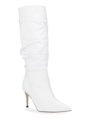Alexandre Birman Lucy Scrunched Knee Boots