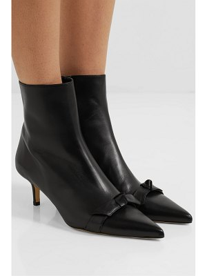 Alexandre Birman lydia bow-embellished leather ankle boots